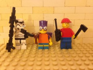 Costumed Lego People